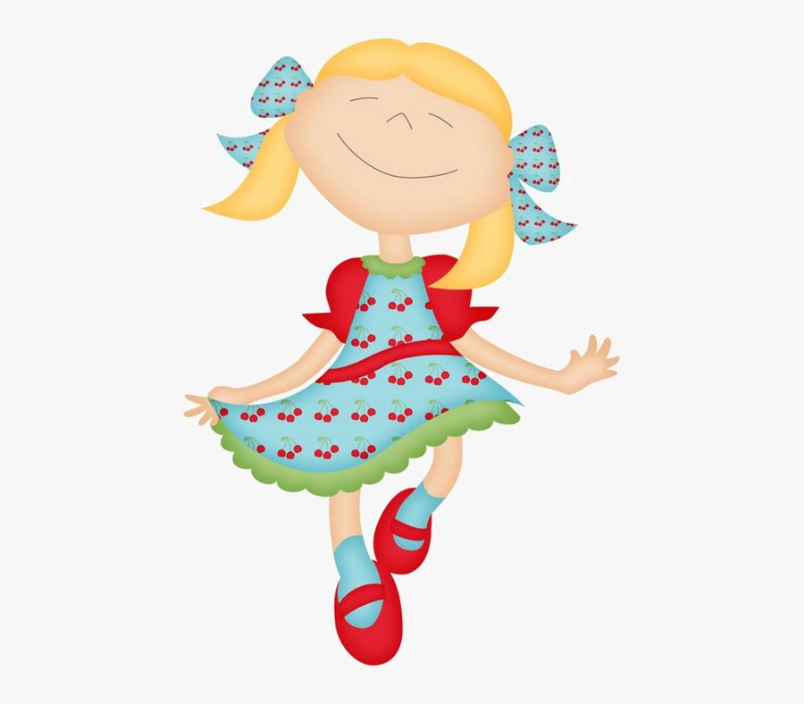 Pretty Little Girl Clipart, Transparent Clipart