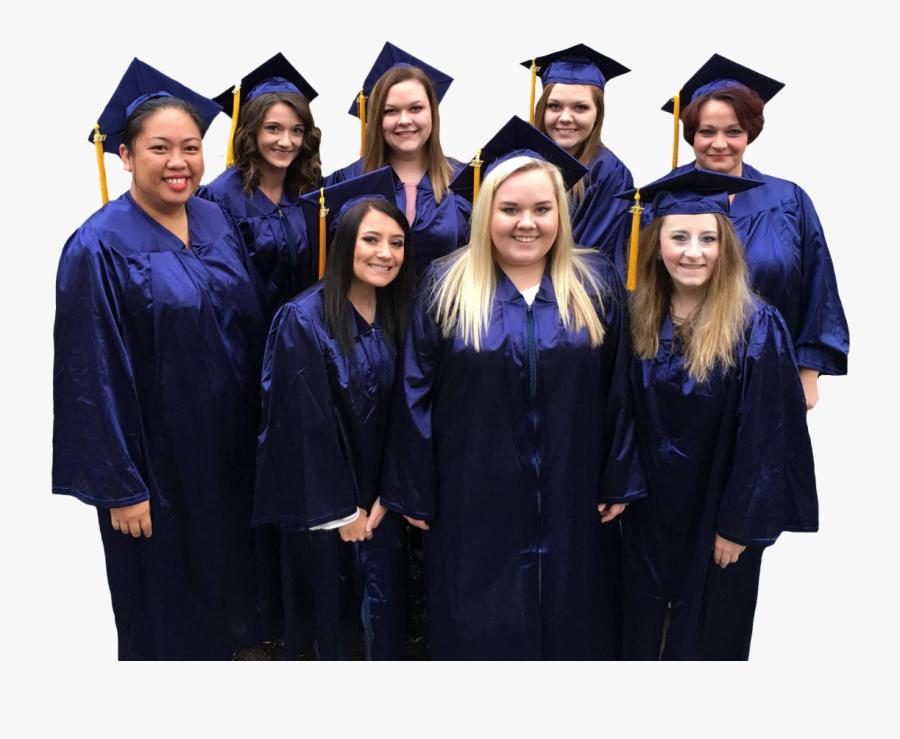 Campus Graduates And Graduates From Online Degree Programs - Academic Dress, Transparent Clipart