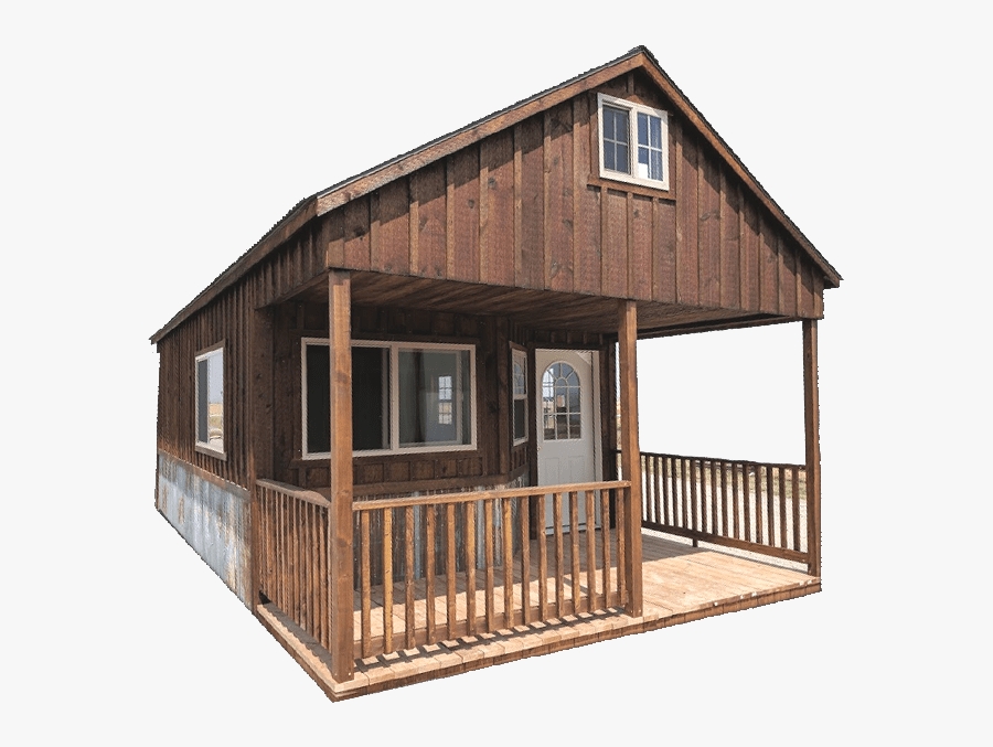 """Montana""""s Choice In Custom Sheds, Garages & Cabins - Cabin Transparent, Transparent Clipart"""