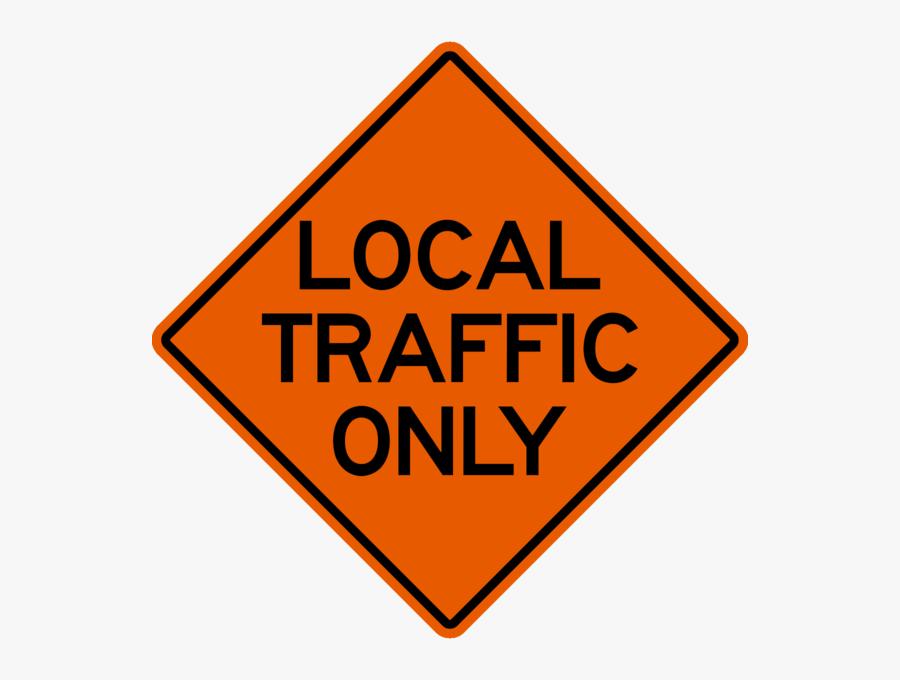 Transparent Highway Sign Png - Traffic Sign, Transparent Clipart