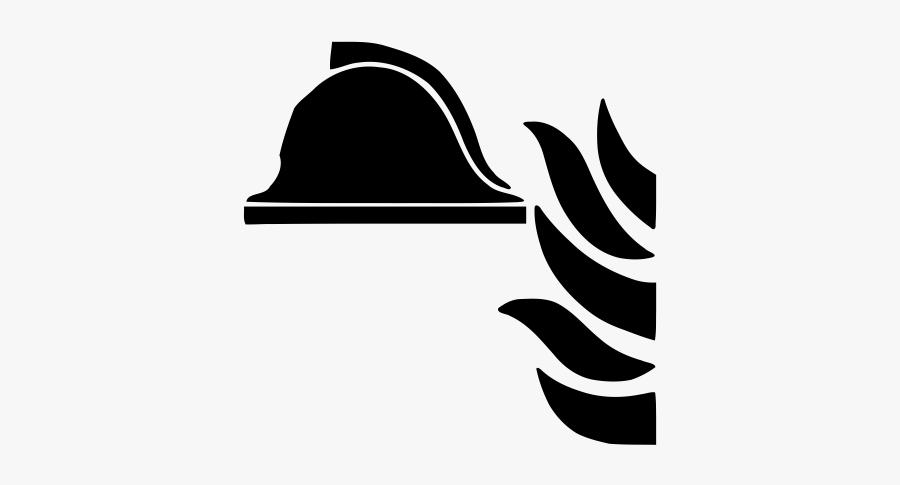 """Firefighter Rubber Stamp""""  Class=""""lazyload Lazyload - Pochoir Extincteur Pour Marquage Au Sol, Transparent Clipart"""