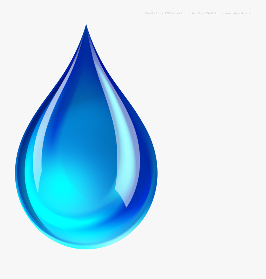 Water Drop Free Clipart Clip Art On Transparent Png - Water Icon Transparent Background, Transparent Clipart