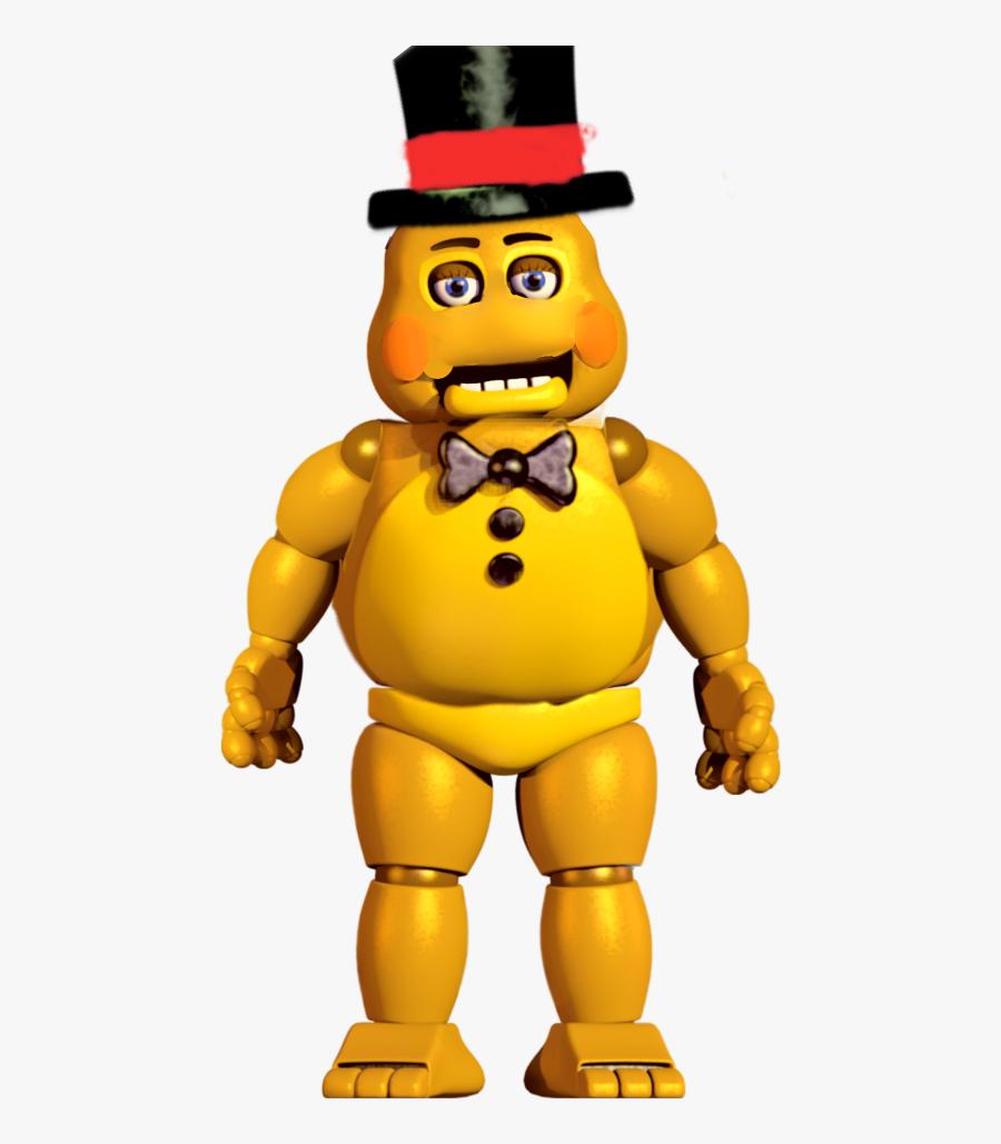 #golden Toy Freddy - Fnaf 2 Toy Png , Free Transparent ...