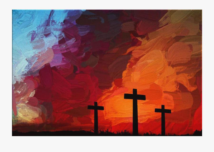 Clip Art Cross Sunset - New Album Country Gospel Songs Healing Grace, Transparent Clipart