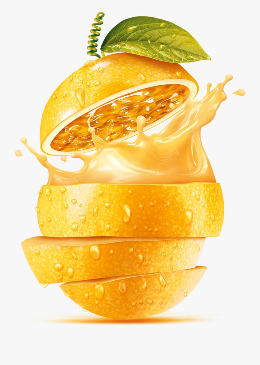Orange Lemon,orange,mai Tai,orange Soft Drink,citric - Fruit Juice Png, Transparent Clipart