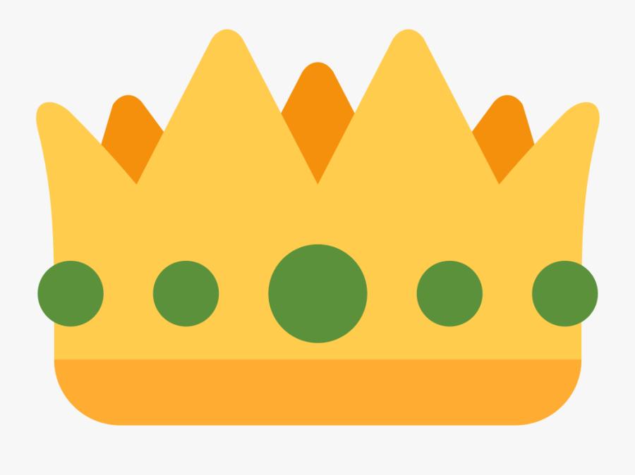 Crown Clip Art Emoji - Transparent King Crown Emoji, Transparent Clipart