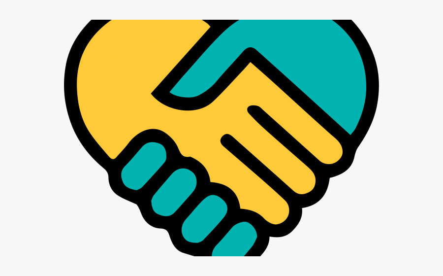 Holding Hands Clipart - Holding Hands Heart Png, Transparent Clipart