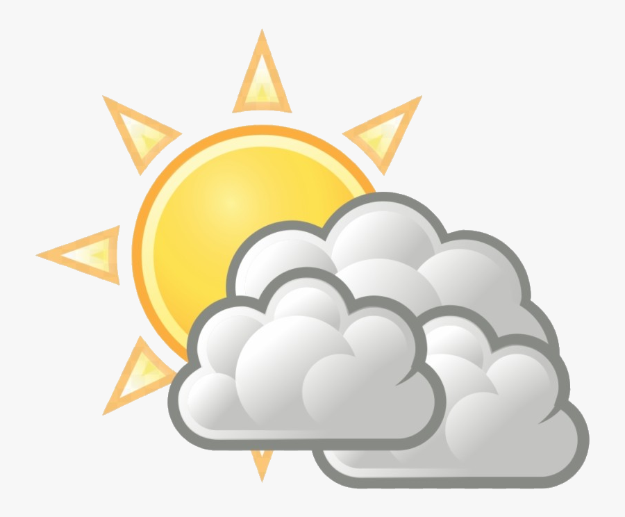 Partly Cloudy Clipart Clip Art Transparent Png - Partly Cloudy Clipart, Transparent Clipart