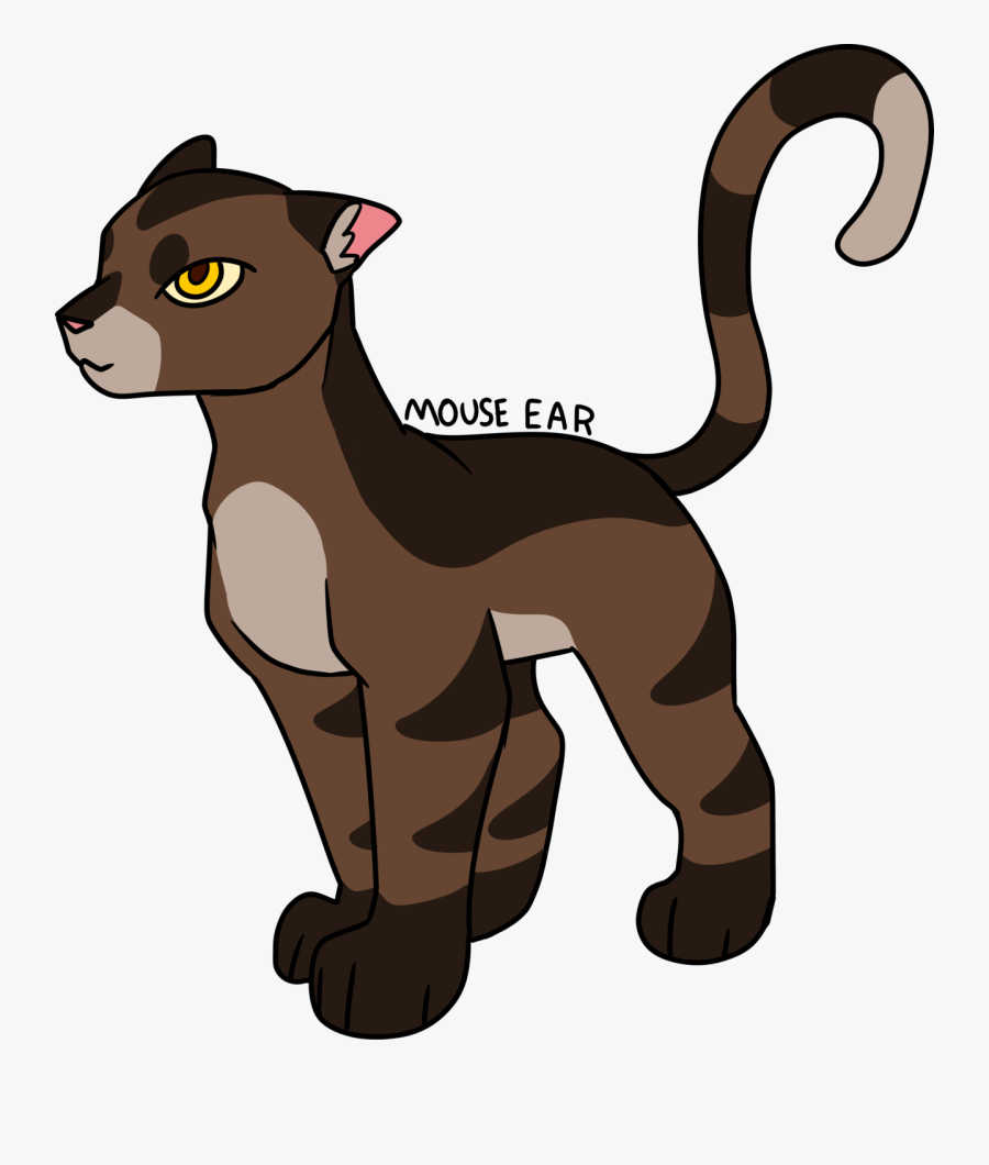 Mouse Ear get This Design On Redbubble - Warrior Cats Mouse Ear, Transparent Clipart
