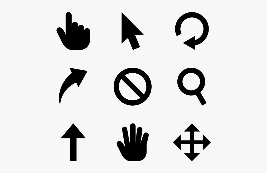 Clip Art Cursor Icons - Richards Bay Christian School, Transparent Clipart