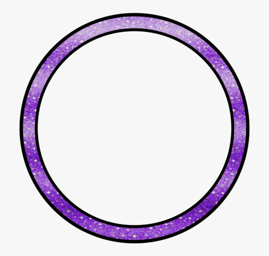 #purple #galaxy #cirlce #color #crop #custom #border - Circle, Transparent Clipart