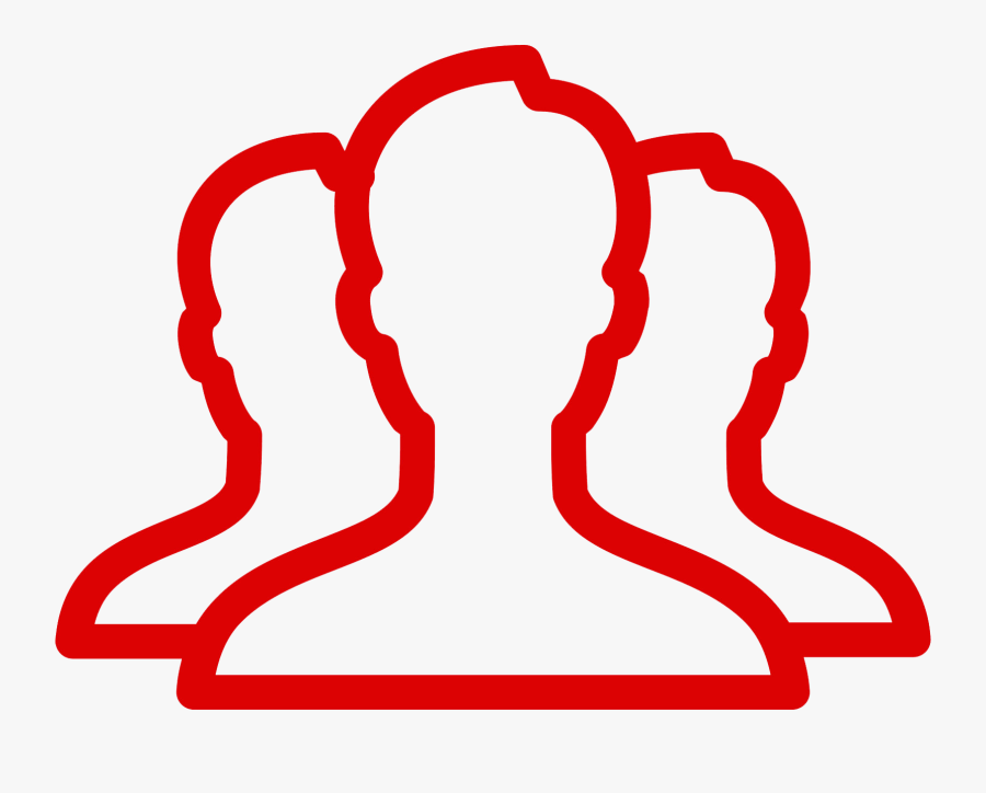 Dedicated Team - Transparent Background People Icon White Png, Transparent Clipart
