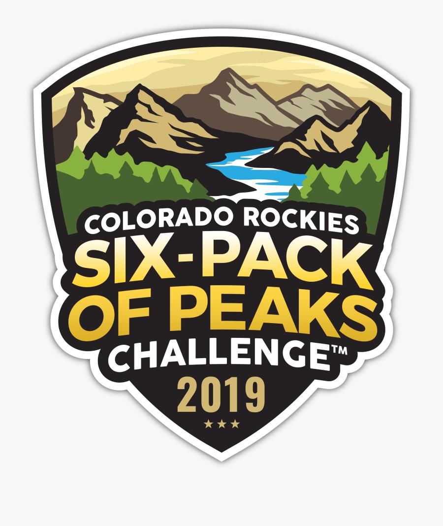 2019 Colorado Six-pack Of Peaks Challenge - Emblem, Transparent Clipart