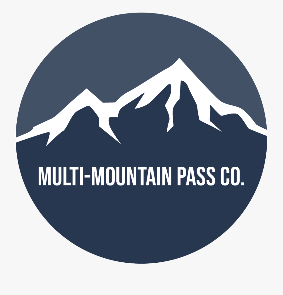 Multi Mountain Ski Passes - Mountain Pass, Transparent Clipart