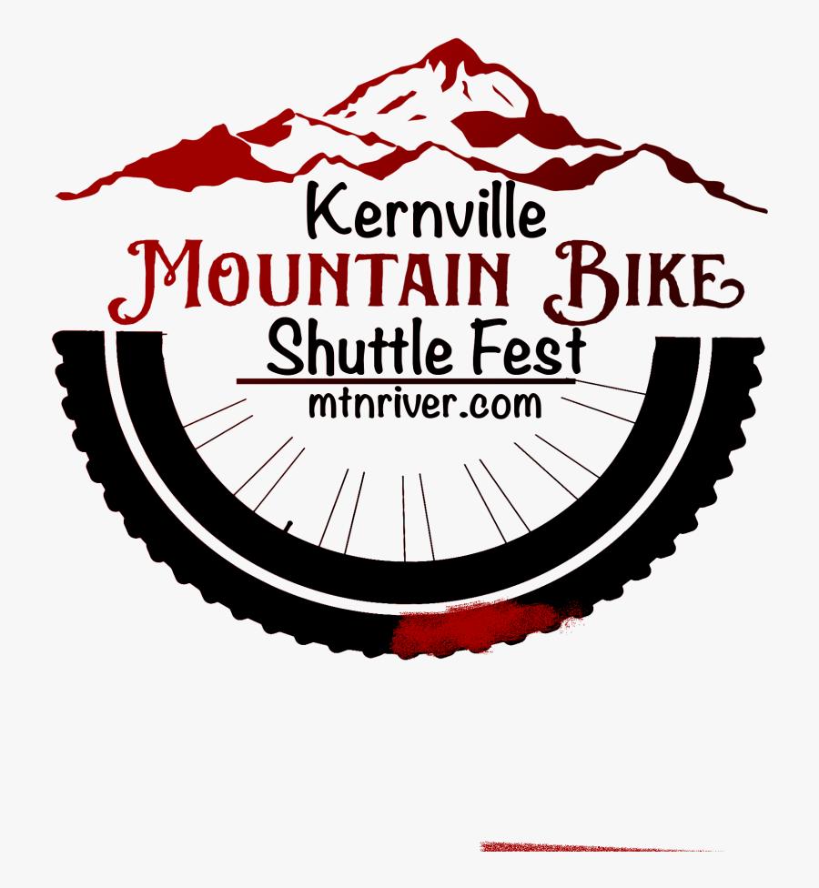 Mountain Bike Tire Logo, Transparent Clipart