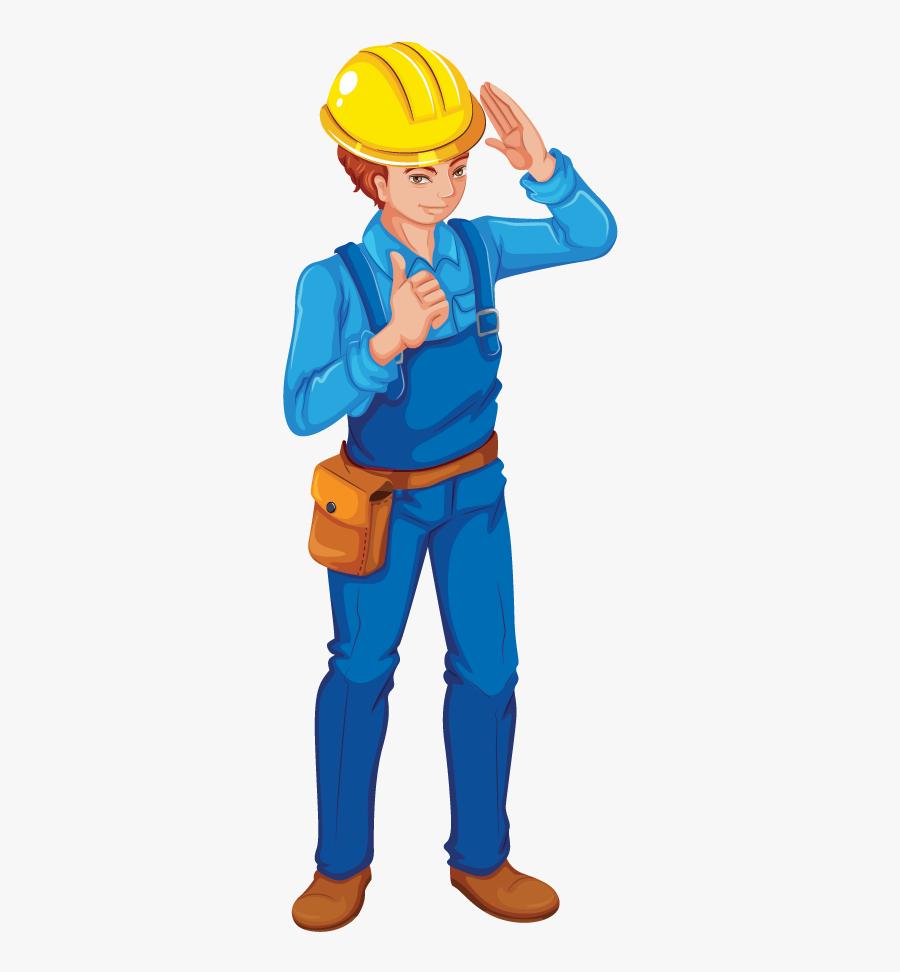 Engineer Clipart Boy, Transparent Clipart
