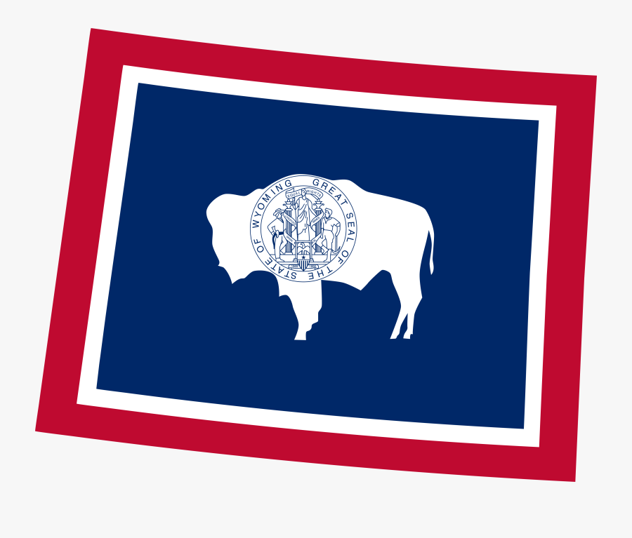 Wyoming Medicare Plans - Wyoming State Flag, Transparent Clipart