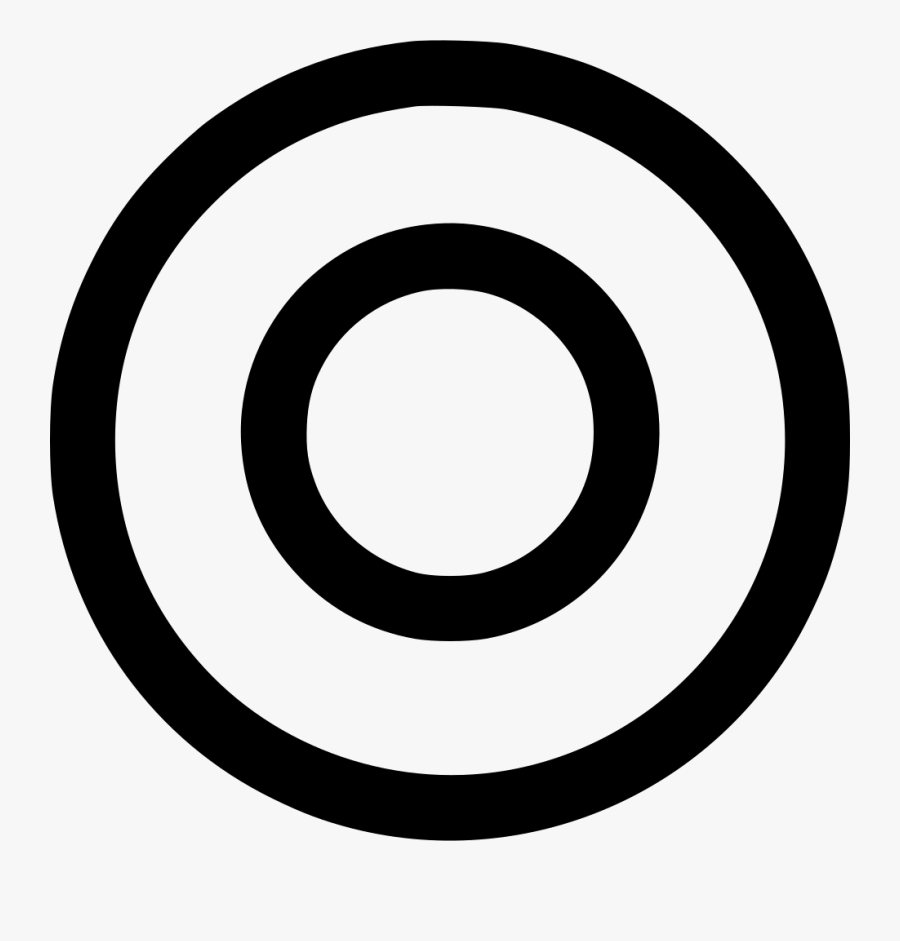 2 Number In Circle, Transparent Clipart