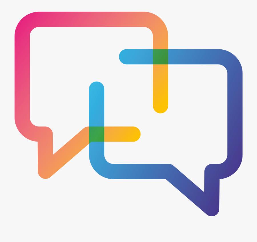 Conversation Icon Green, Transparent Clipart