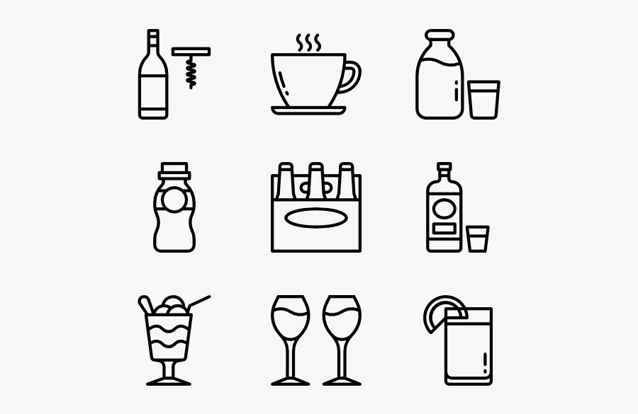 Beverage, Transparent Clipart