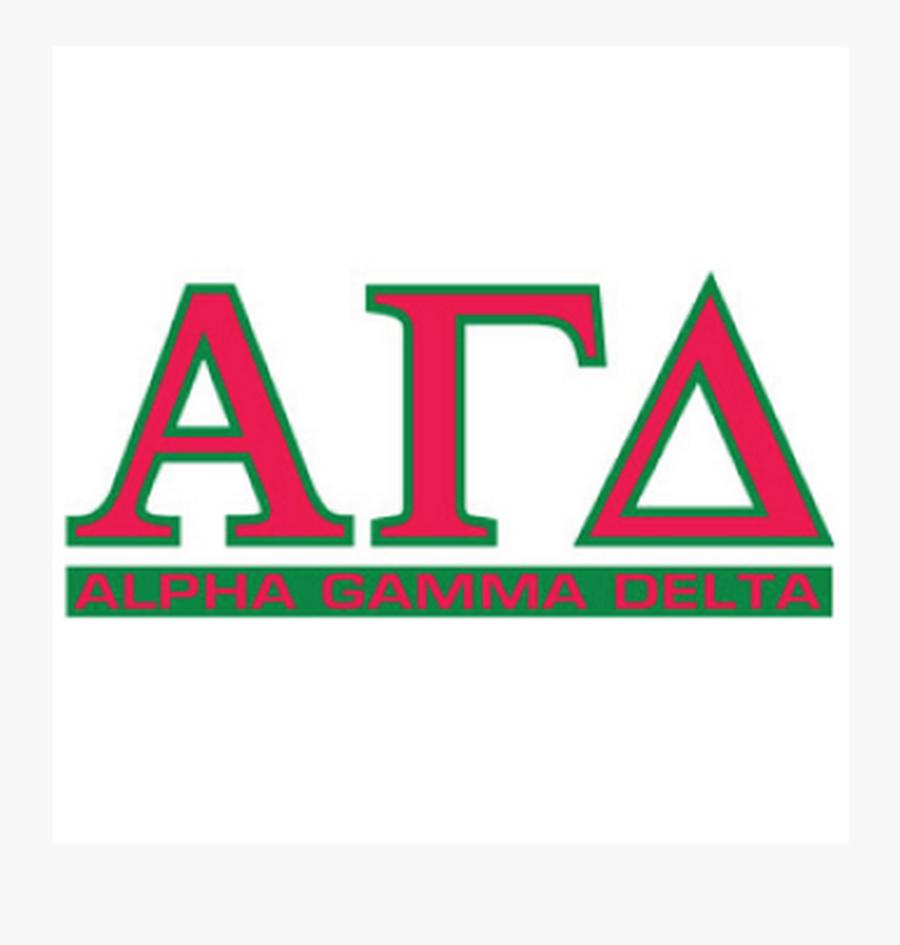 Alpha Gamma Delta Greek Letters, Transparent Clipart