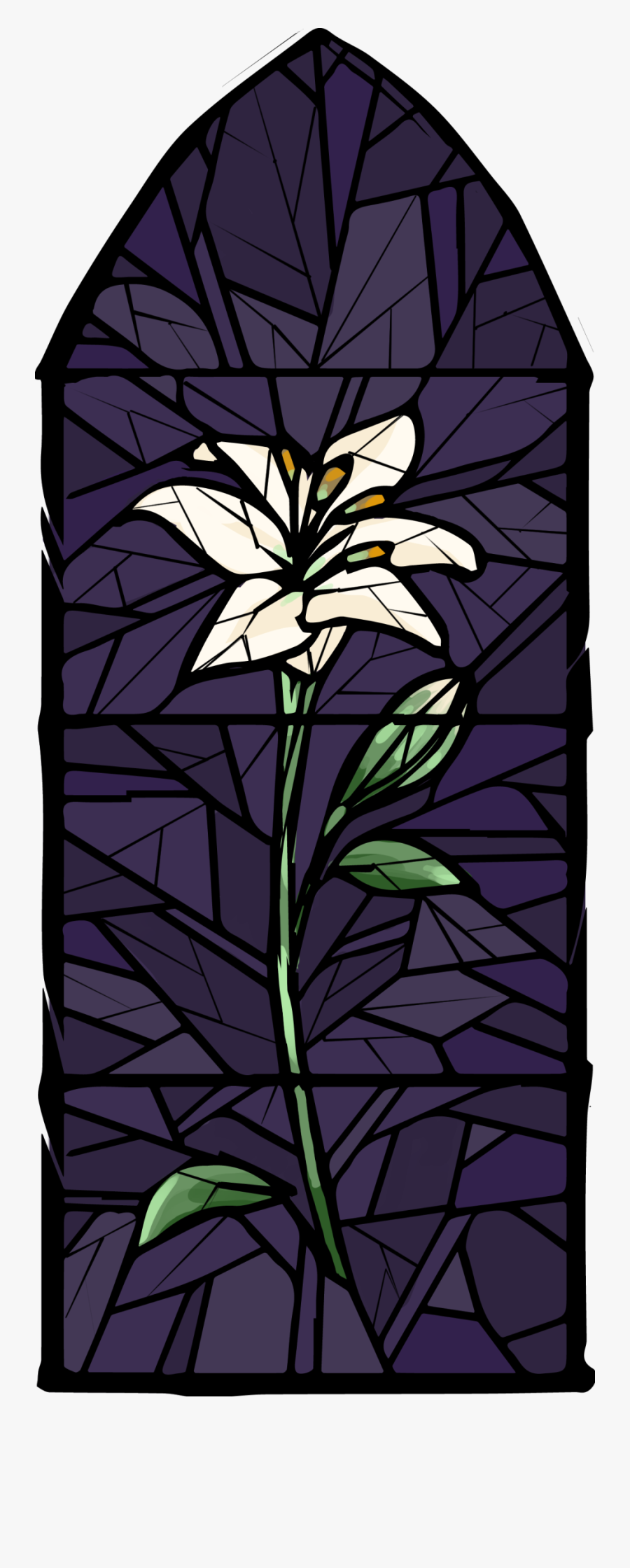 Stained Glass, Transparent Clipart