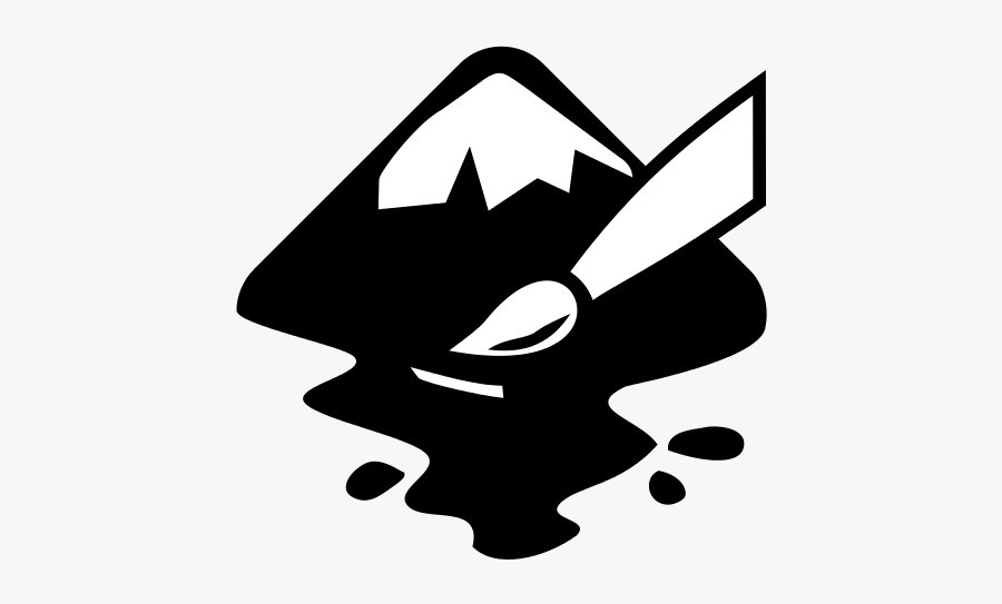 Inkscape Logo Svg, Transparent Clipart