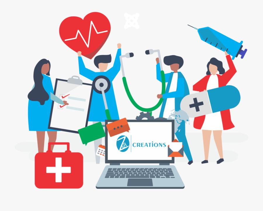 Hospital Software Company Gurgaon - Healthcare Graphic, Transparent Clipart
