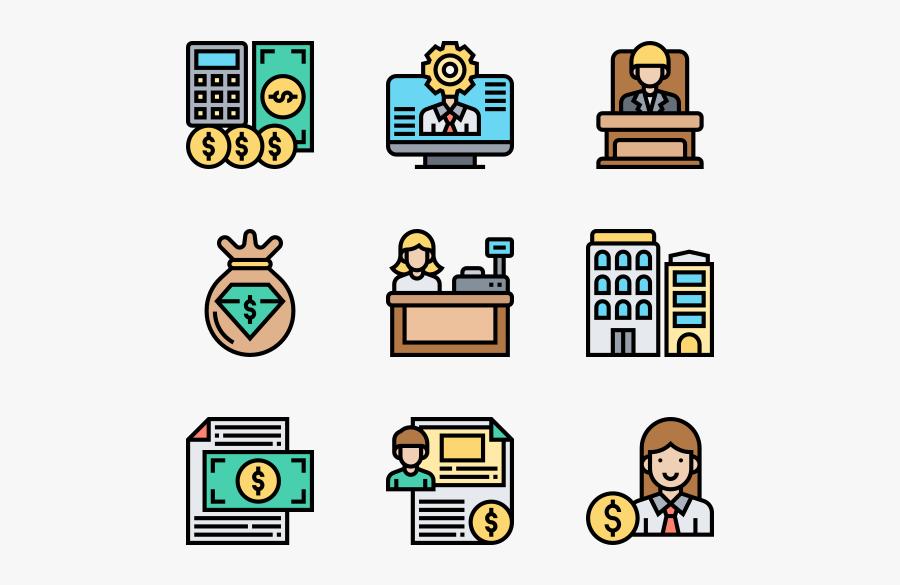 Bills Icon, Transparent Clipart