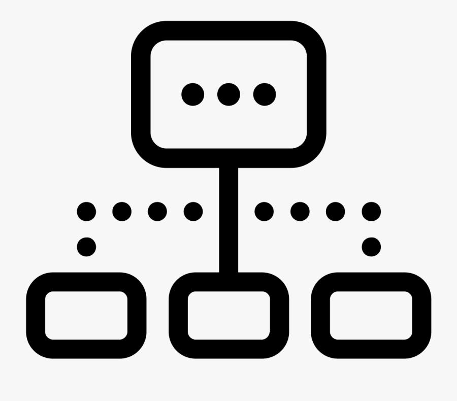 Work Breakdown Structure Icon, Transparent Clipart