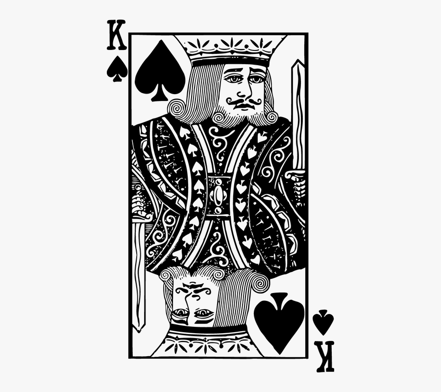 King Of Spades Cards Spade King Poker Spades Illustration Free Transparent Clipart Clipartkey