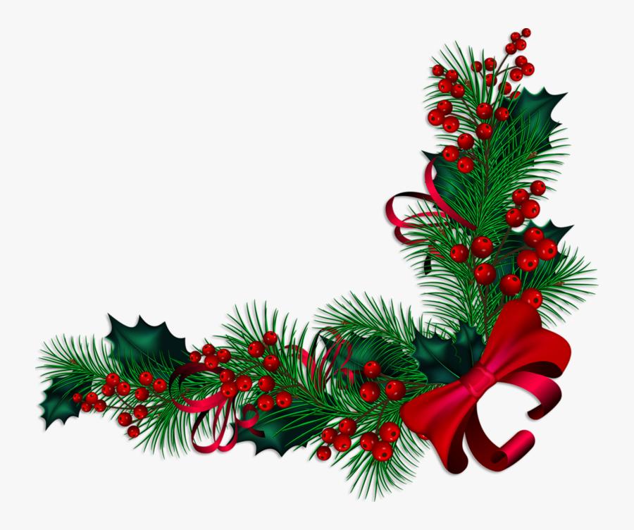 Christmas Decoration Christmas Ornament Clip Art - Transparent Christmas Border Vector, Transparent Clipart