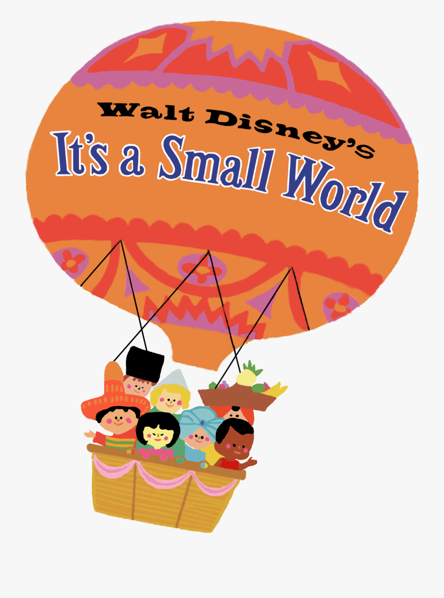 It's A Small World Logo, Transparent Clipart