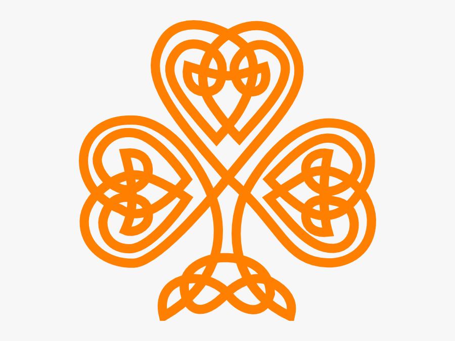 Celtic Knot Irish Shamrock, Transparent Clipart