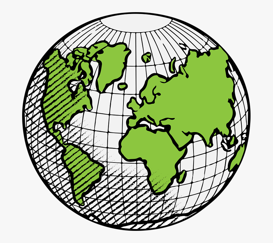Globe, Earth, World, Planet, Science, Hour, Time, Hope - Globe For Kids Drawing, Transparent Clipart
