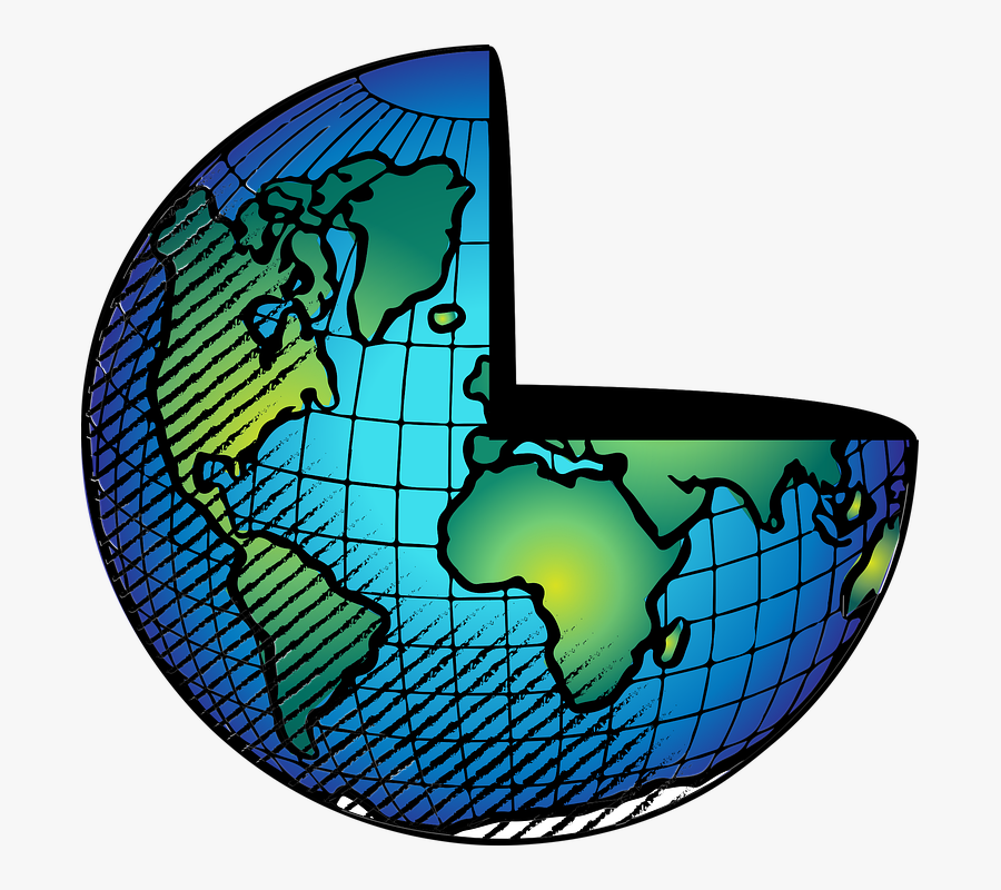 Globe, Earth, World, Planet, Science, Hour, Time, Hope - Planet Earth For Coloring, Transparent Clipart