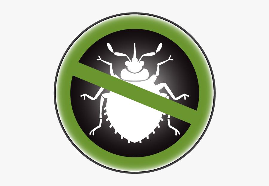 Bed Bugs Treatment Logo, Transparent Clipart