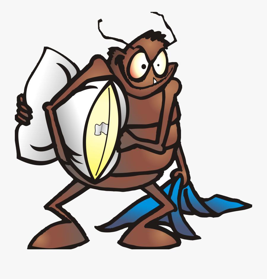 Bed Bug Cartoon Png, Transparent Clipart