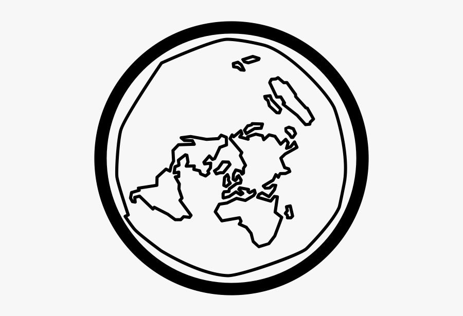 """  Class=""lazyload Lazyload Mirage Cloudzoom Featured - Flat Earth Map Icon, Transparent Clipart"