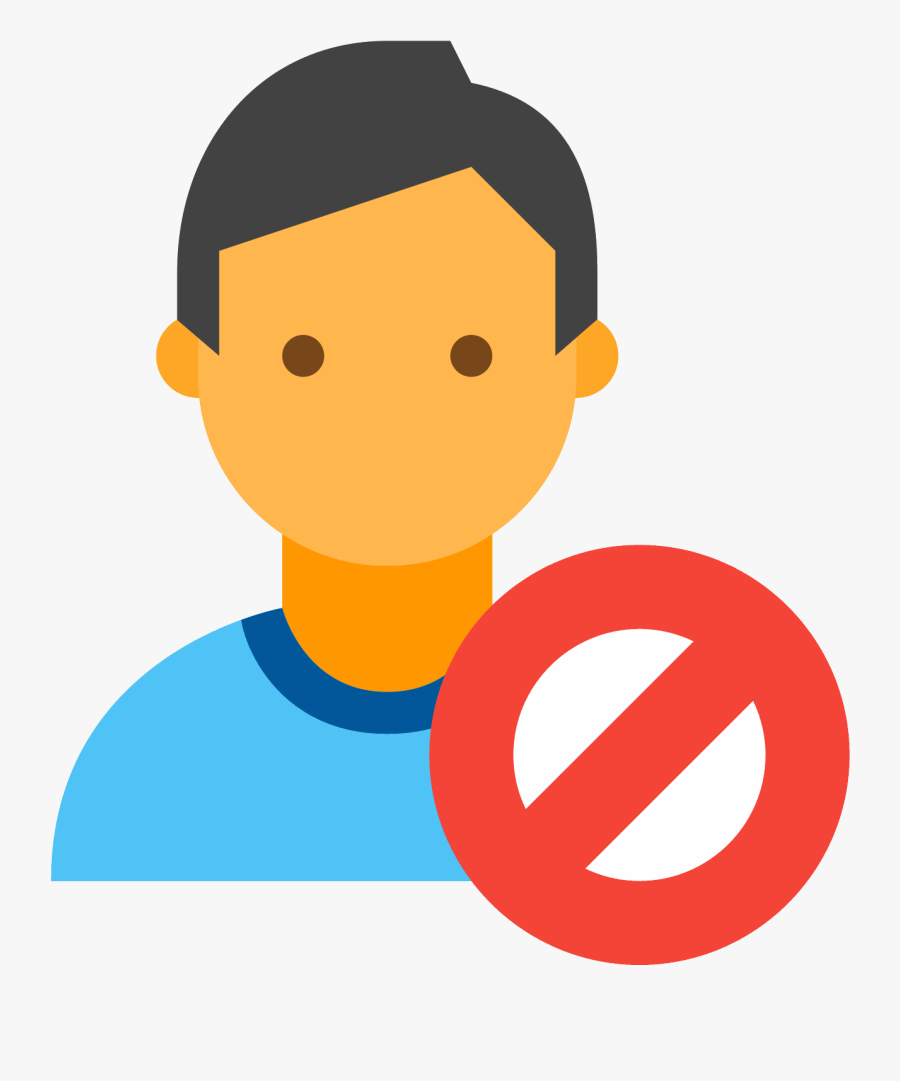 Male Vector Shoulder - Office Worker Icon Png, Transparent Clipart
