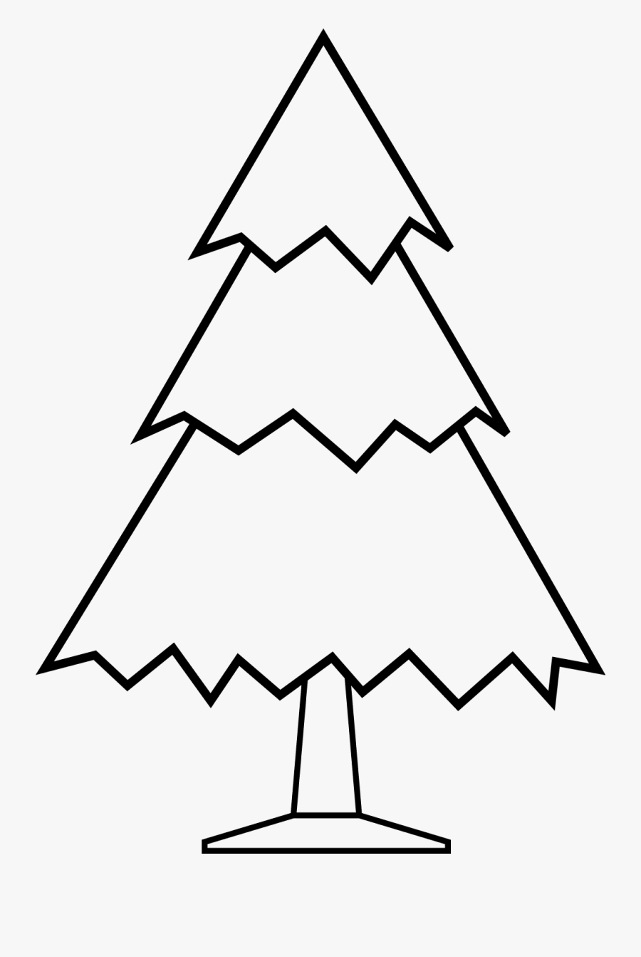 Christmas Tree Drawing Designs, Transparent Clipart