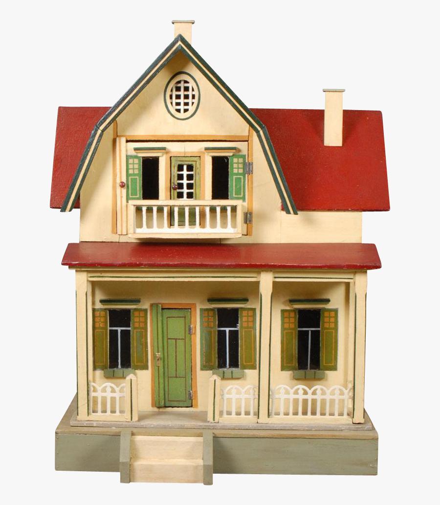 Clip Art Moritz Gottschalk Red Roof - House, Transparent Clipart