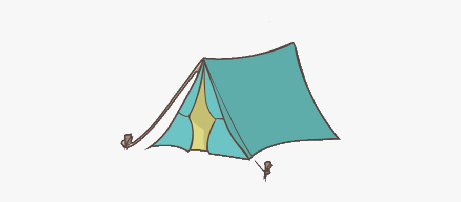 #camping #camp #tent #outdoors #forest - Camping, Transparent Clipart