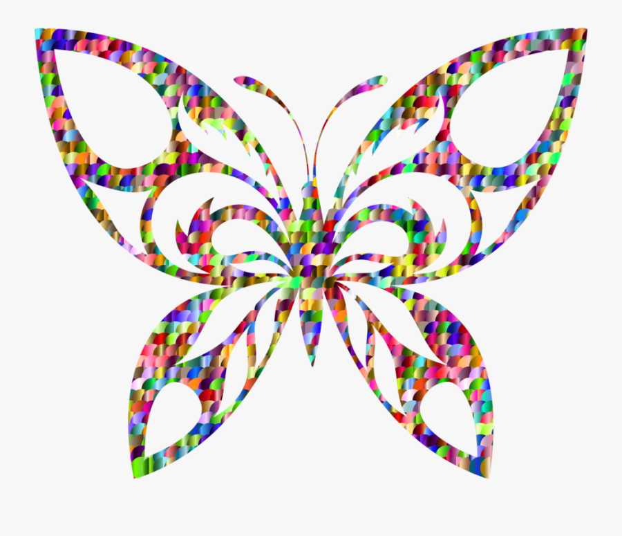 Monarch Clipart Titali - Butterfly On Flower Silhouette, Transparent Clipart