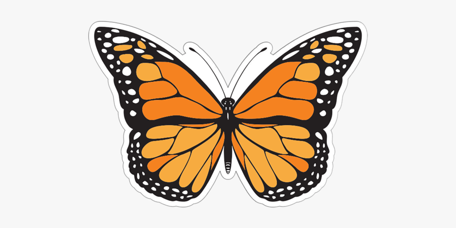 Butterfly Patch - Butterfly Tattoo Designs Black And White, Transparent Clipart