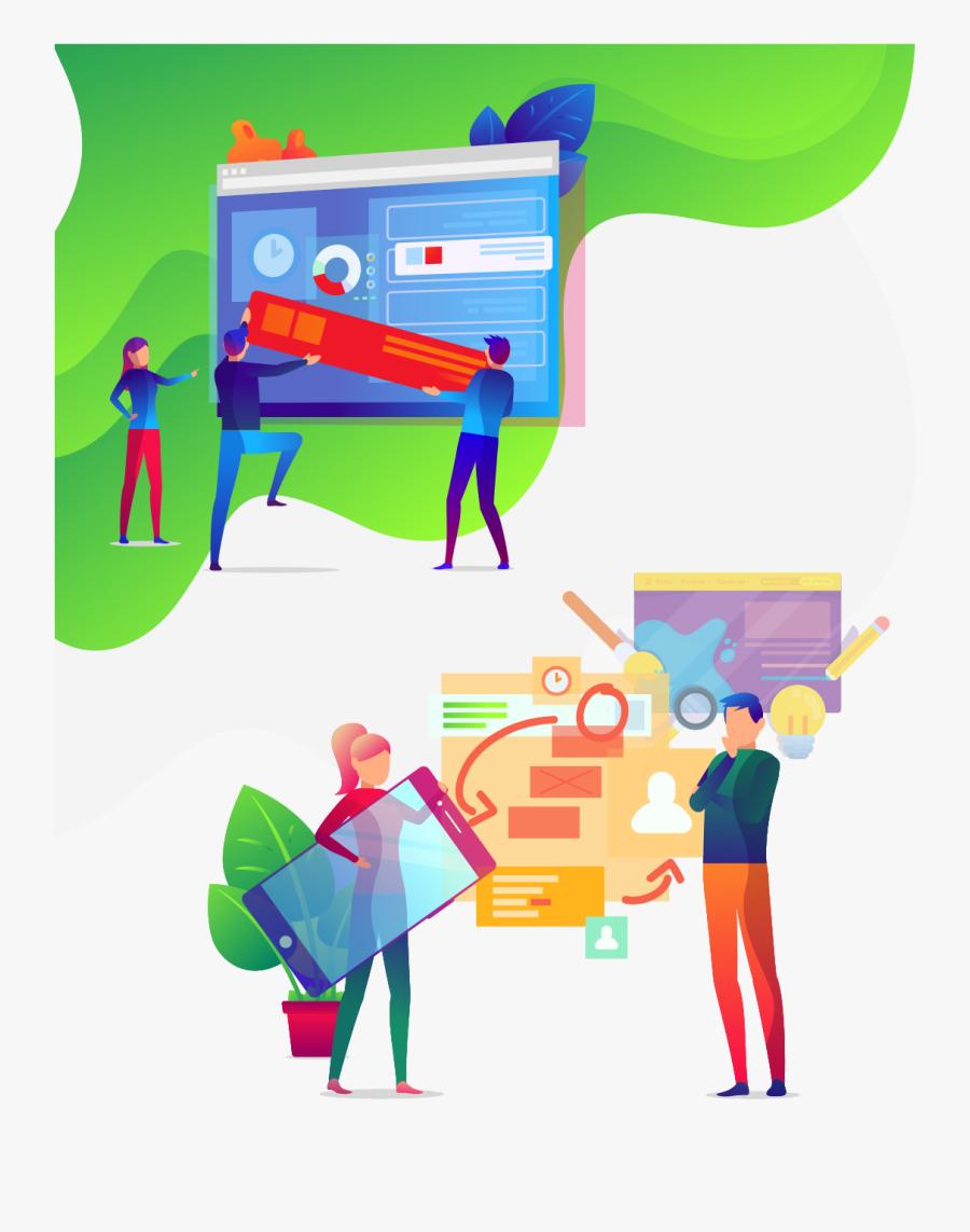Ux Design Ad, Transparent Clipart