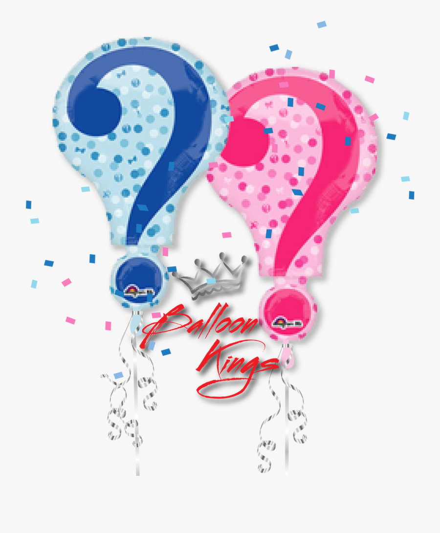 Gender Reveal, Transparent Clipart