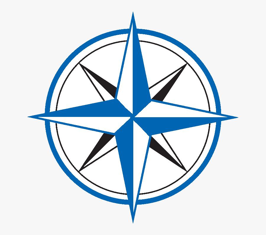 Simple Compass Rose, Transparent Clipart