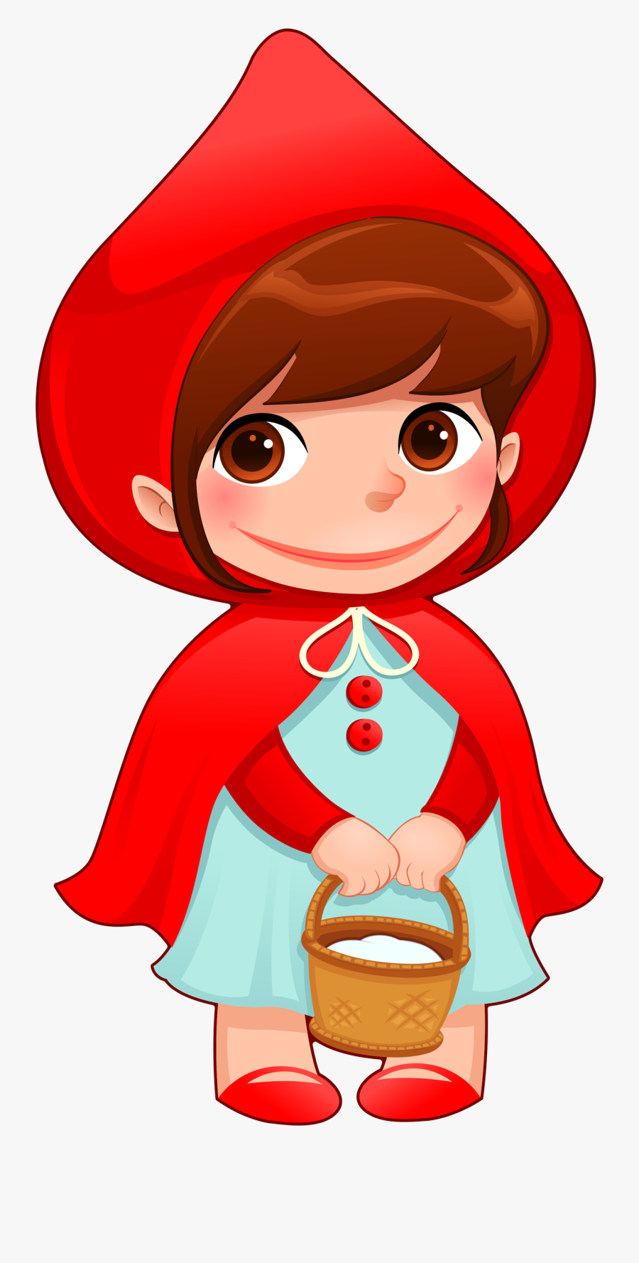 Little Red Riding Hood Transparent Background Png - Little Red Riding Hood Png, Transparent Clipart