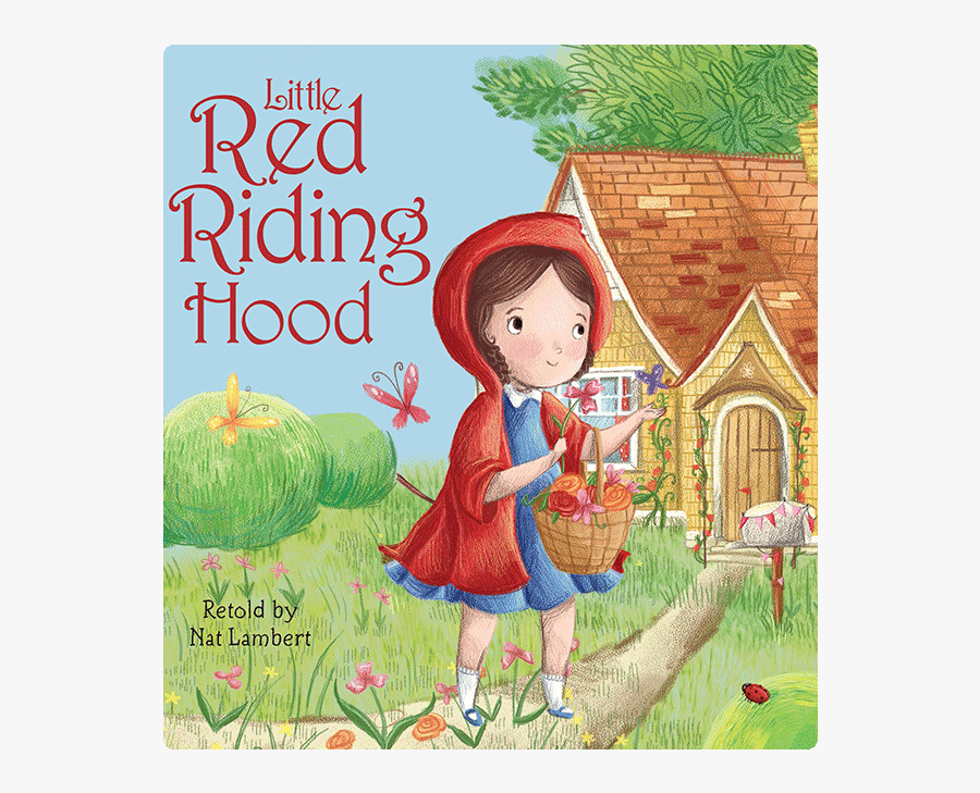 Book Pictures Of Little Red Riding Hood, Transparent Clipart